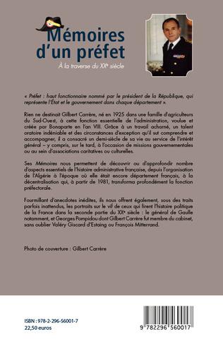 4eme Mémoires d'un préfet