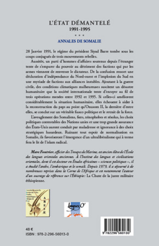 4eme L'Etat démantelé 1991-1995
