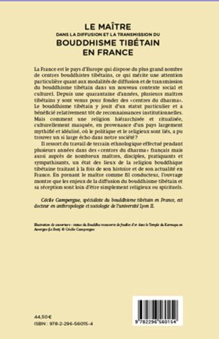 4eme Maitre dans la diffusion et la transmission du bouddhisme tibétain en France