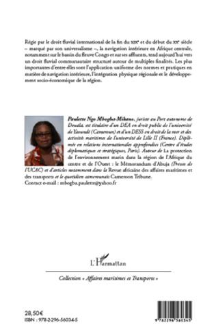 4eme Le droit de la navigation intérieure en Afrique centrale : vers la communautarisation