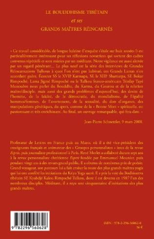 4eme Le bouddhisme tibétain et ses grands maîtres réincarnés