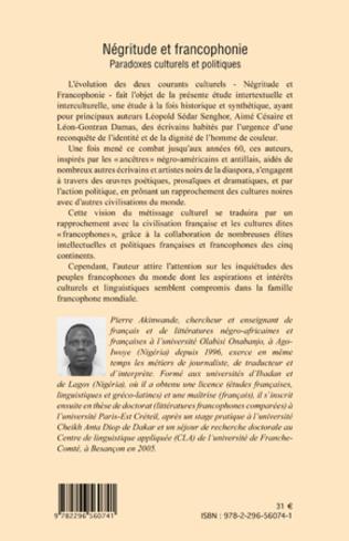 4eme Négritude et francophonie