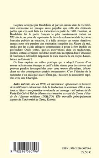 4eme La poésie estonienne et Baudelaire