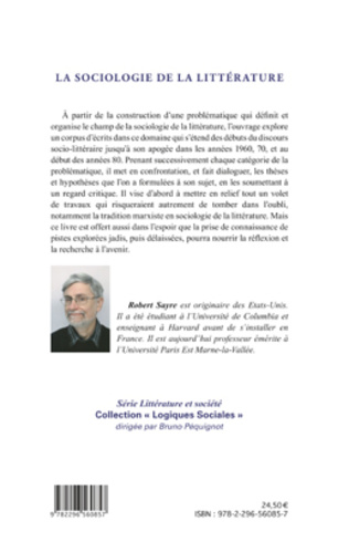 4eme La sociologie de la littérature
