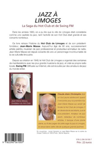 4eme Jazz à Limoges. La Saga du Hot Club et de Swing FM