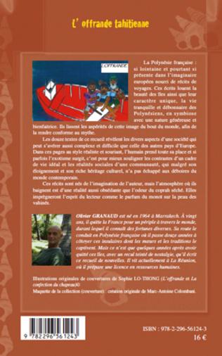 4eme L'OFFRANDE TAHITIENNE   NOUVELLES