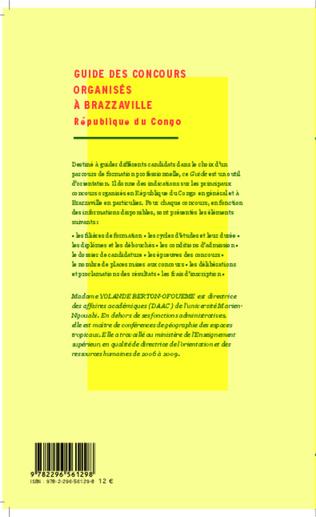 4eme Guide des concours organisés à Brazzaville