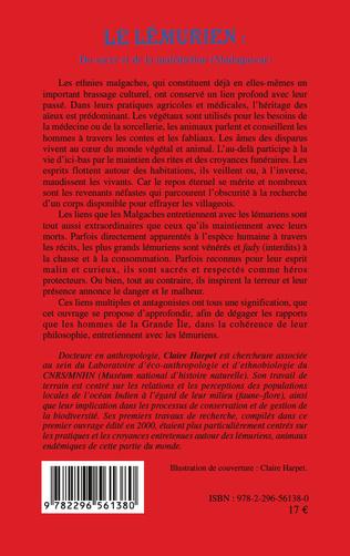 4eme Le lémurien : du sacré et de la malédiction (Madagascar)