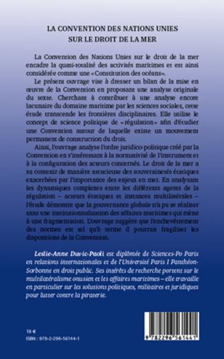 4eme La Convention des Nations Unies sur le droit de la mer