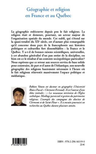 4eme Géographie et religion en France et au Québec