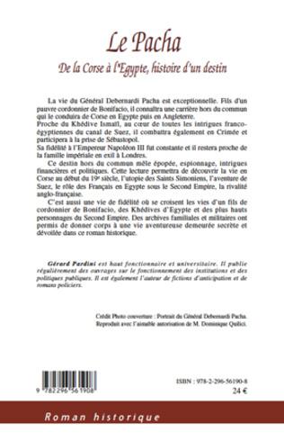 4eme Le Pacha De la Corse à l'Egypte, Histoire d'un destin