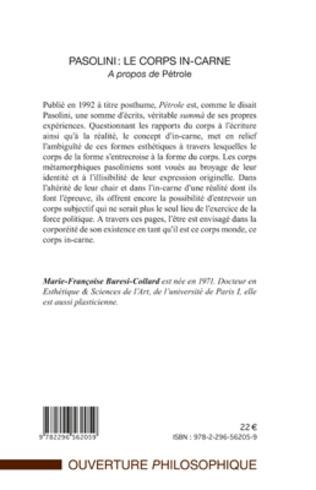 4eme Pasolini : le corps in-carne