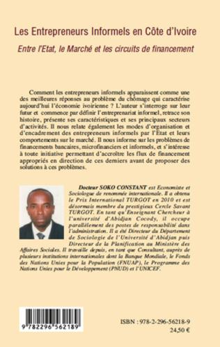 4eme Les entrepreneurs informels en Côte d'Ivoire