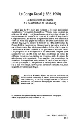 4eme Le Congo-Kasaï (1865-1950)