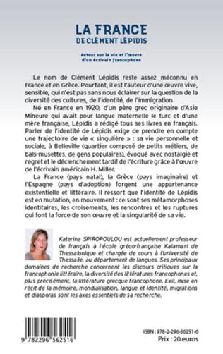 4eme La France de Clément Lépidis