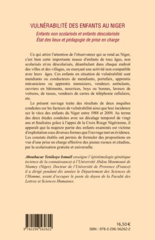 4eme Vulnérabilité des enfants au Niger
