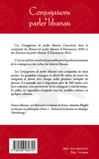 4eme Conjugaisons de parler libanais