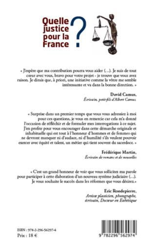 4eme Quelle justice pour la France ?
