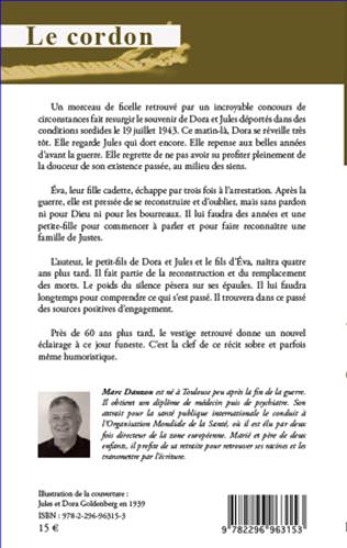 4eme Le cordon. Mémoires familiales de la Shoah