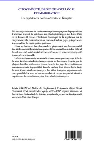4eme Citoyenneté, droit de vote local et immigration
