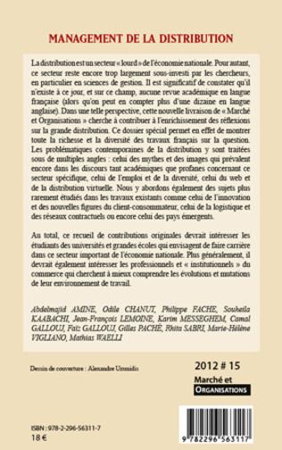4eme AU-DELÀ DE LA PRODUCTIVITÉ : LES MULTIPLES MONDES DE LA PERFORMANCE DANS LE COMMERCE