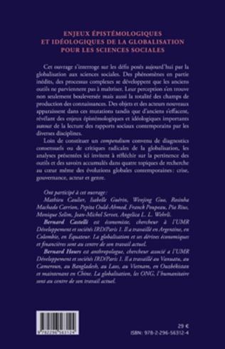4eme Enjeux épistémologiques et idéologiques de la globalisation pour les sciences sociales