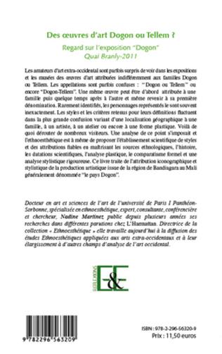 4eme Des oeuvres d'art Dogon ou Tellem ?