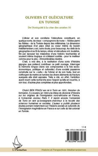 4eme Oliviers et oléiculture en Tunisie