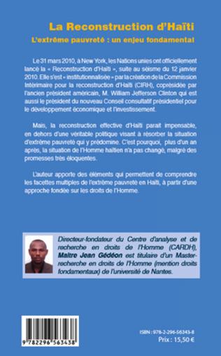 4eme Reconstruction d'Haïti