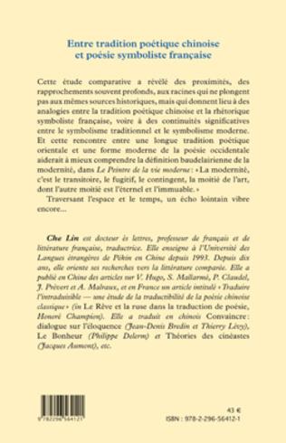 4eme Entre tradition poétique chinoise et poésie symboliste française