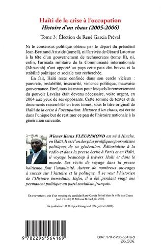 4eme Haïti de la crise à l'occupation