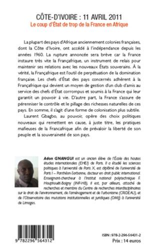 4eme Côte d'Ivoire : 11 avril 2011