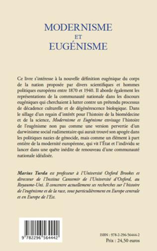 4eme Modernisme et eugénisme