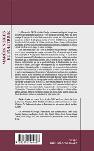 4eme Marées noires et (sciences sociales du) politique