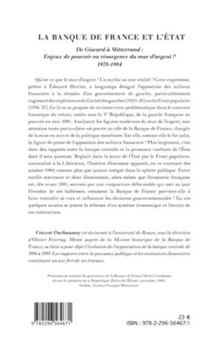4eme La Banque de France et l'Etat