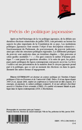 4eme Précis de politique japonaise