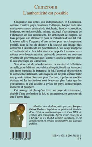 4eme Cameroun L'authenticité est possible