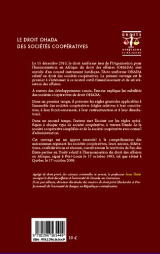 4eme Le droit OHADA des sociétés coopératives