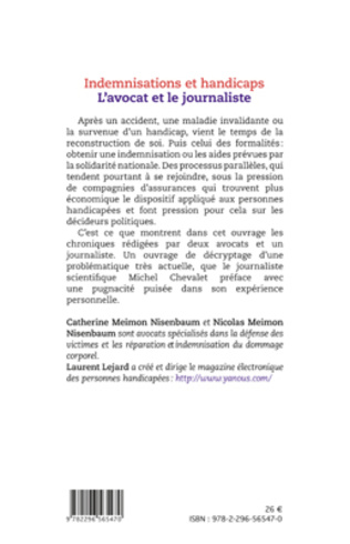 4eme Indemnisations et handicaps. L'avocat et le journaliste