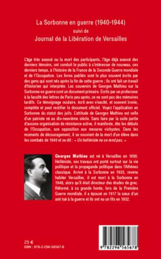 4eme La Sorbonne en guerre (1940-1944)