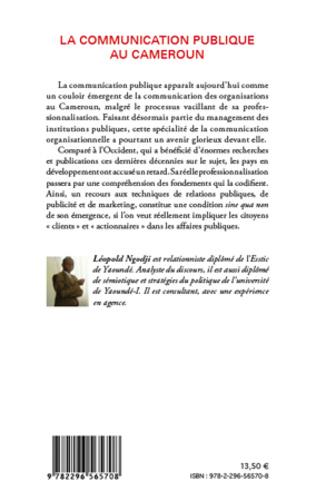 4eme La communication publique au Cameroun