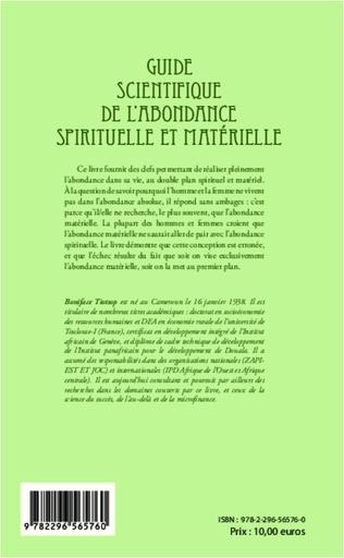 4eme Guide scientifique de l'abondance spirituelle et matérielle