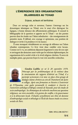 4eme L'émergence des organisations islamiques au Tchad