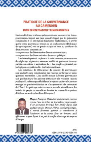 4eme La pratique de la gouvernance au Cameroun