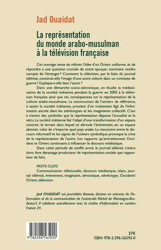 4eme La représentation du monde arabo-musulman à la télévision française