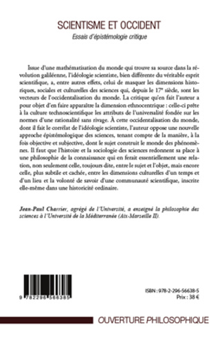 4eme Scientisme et occident