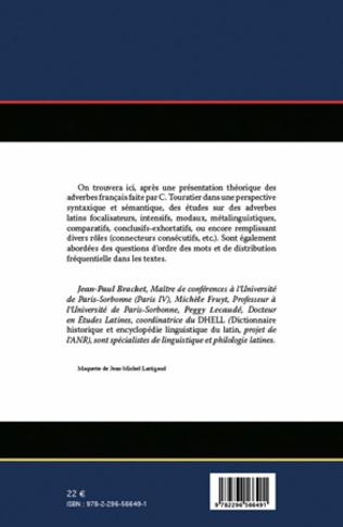 4eme Les adverbes latin : syntaxe et sémantique