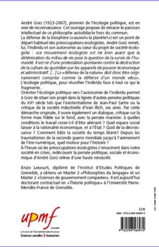 4eme André Gorz, portrait du philosophe en contrebandier