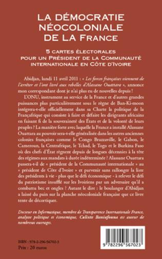 4eme La démocratie néocoloniale de la France