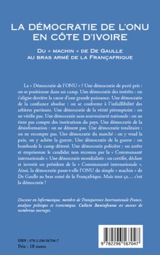 4eme La démocratie de l'ONU en Côte d'Ivoire